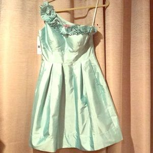 NWT Beautiful Mint Green Eliza J Dress